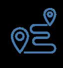 Roadmap Ink Icon